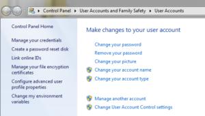 how to create password windows