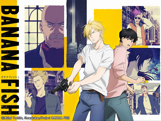 Banana Fish Episode 1-24 Subtitle Indonesia