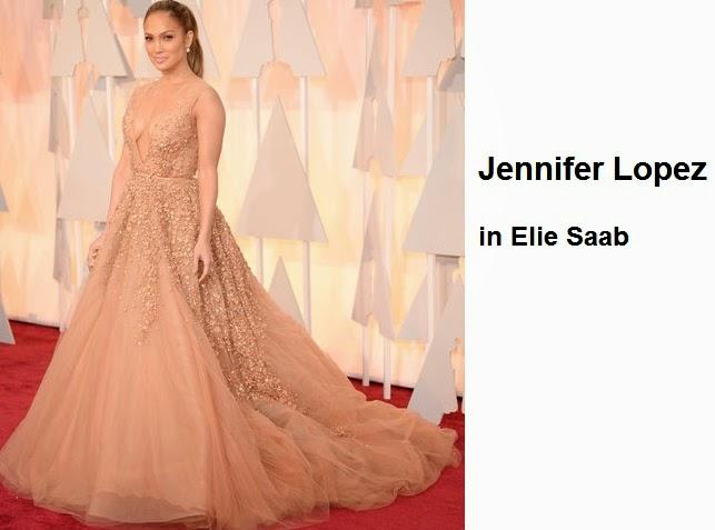Jennifer%2BLopez%2Bin%2BElie%2BSaab - Look Óscares 2015