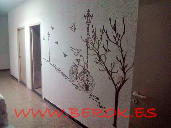 Graffiti decorativo oficinas