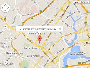 lokasi hotel murah di Singapura