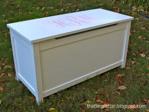 diy simple toy box with lid