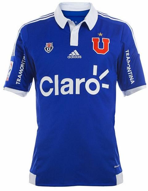 Adidas lança novas camisas do Universidad de Chile - Show de Camisas b1ae3248d8959