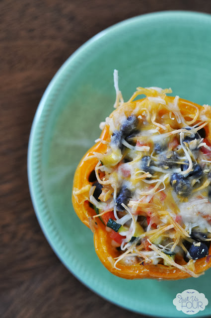 Chicken Enchilada Stuffed Pepper Recipe