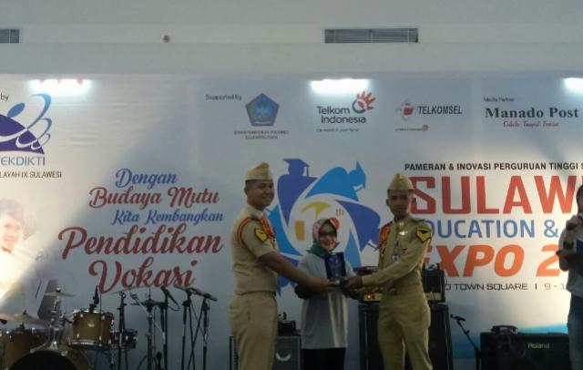 SDM Perhubungan RI  Stand Terbaik Sulawesi Expo Kopertis IX Sulawesi
