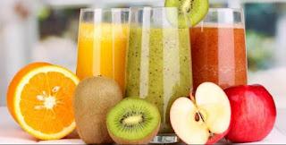 Jus Buah Segar Jeruk Kiwi Apel untuk Diet Sehat dan Tepat