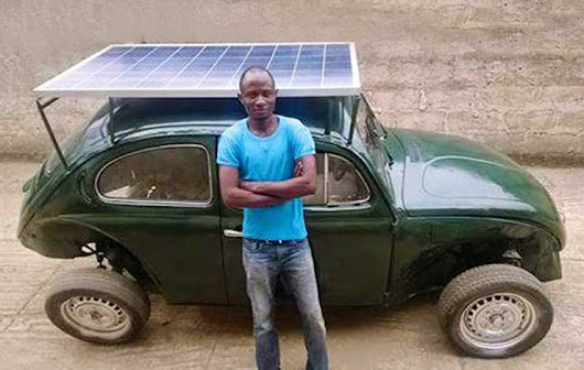 This Nigerian Young Man Has Dumbfounded Scientists!         |          Amazing Oasis