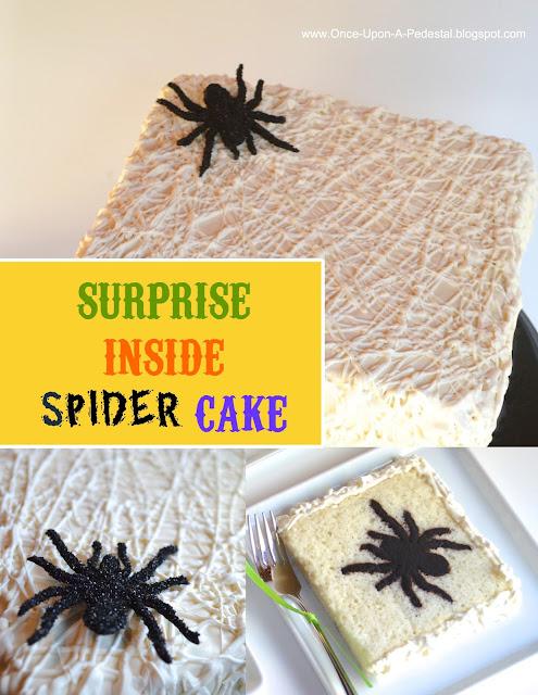 halloween-cake-surprise-inside-cake-spider-web