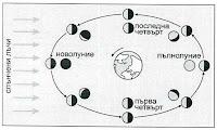 Схема на лунните фази
