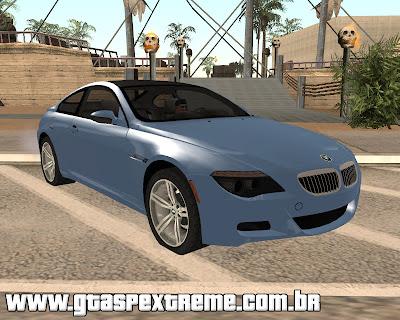BMW M6 para grand theft auto