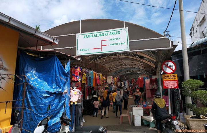 Pengkalan Kubor tempat shopping bebas cukai