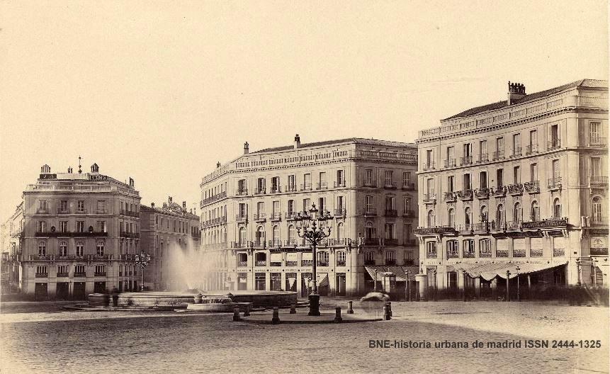 Historia urbana de madrid tra da de aguas fuente del for Puerta del sol historia