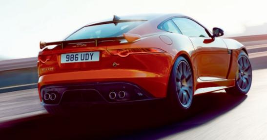 2017 Jaguar F-Type SVR Performance