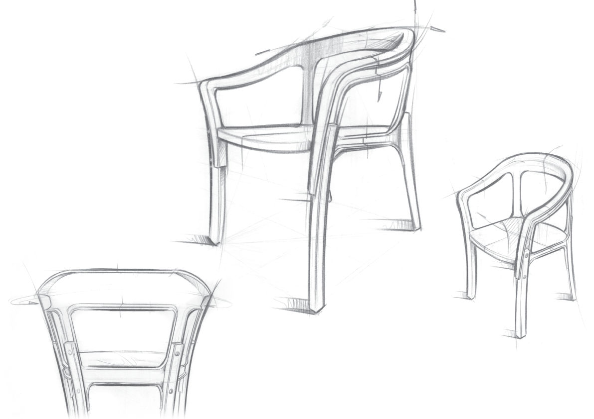 Notes From The Atelier Steel Wood Chair By The Bouroullec