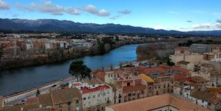 El Ebro desde el Castillo de San Juan.