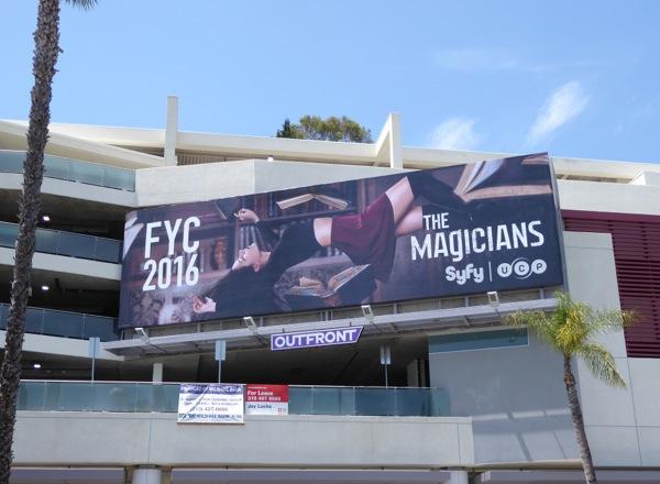 The Magicians season 1 Emmy 2016 FYC billboard