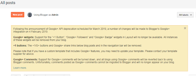 Using Google Plus Shut Down