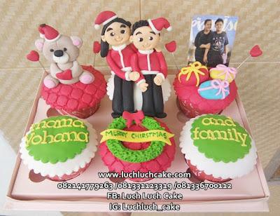 Cupcake Natal Surabaya - Sidoarjo