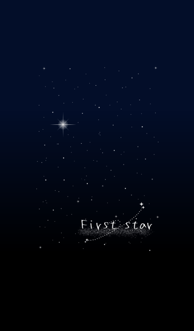 *The First star*