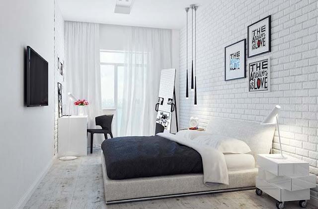 Sebuah kamar tidur yang nyaman tidak sekedar mengedepankan visual saja.  Lebih dari itu juga harus mengedepankan fungsi setiap unsur yang ada di kamar tidur.  Karenanya, dekorasi dan pemilihan warna kamar tidur memegang peranan penting untuk menciptakan kamar tidur yang nyaman.