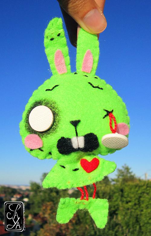 Brain the bunny