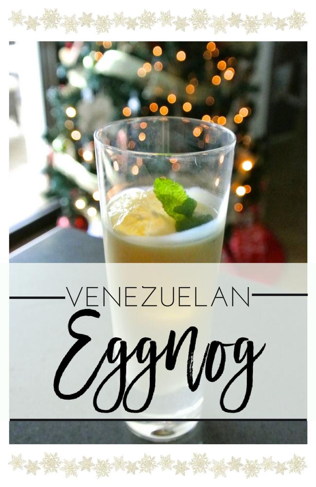Ponche crema, venezuela, venezuelan eggnog