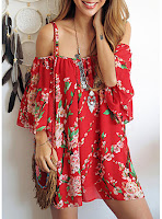 https://www.dresshead.com/mini-chiffon-dress-red-floral-print-spaghetti-strap-cold-shoulder-loose-fit/