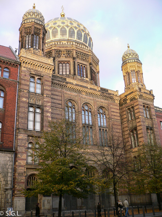 Nueva Sinagoga de Berlin. Berlin en 4 dias