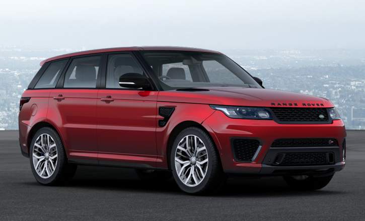 land rover range rover sport svr 2017 couleurs colors. Black Bedroom Furniture Sets. Home Design Ideas
