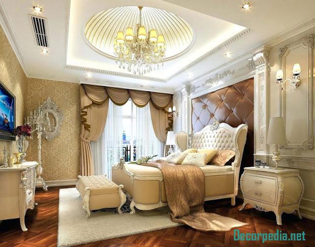 luxury gypsum ceiling designs for bedroom, false ceiling pop design 2019