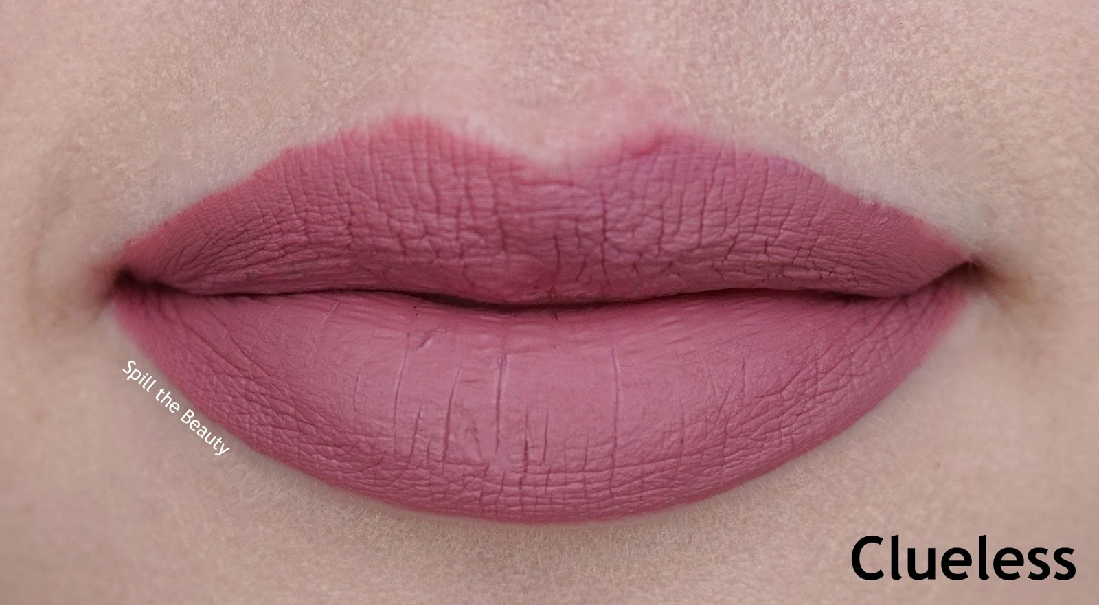 colourpop ultra matte lip review swatches 2 clueless - lips