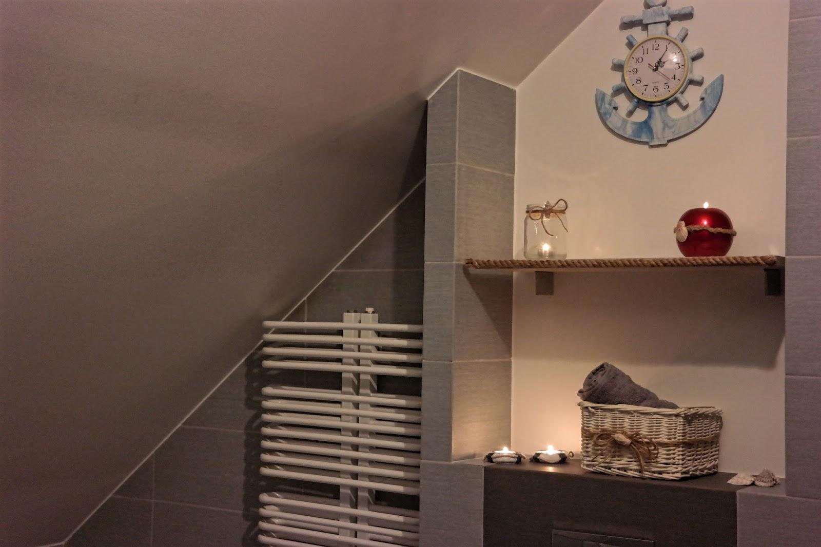 Moja Marynistyczna łazienka Mieszkanie Marzeń