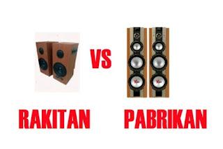 Speaker Aktif Rakitan
