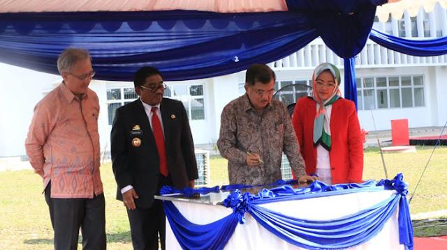Wapres JK Resmikan Fakultas Teknis Universitas Hasanuddin Gowa