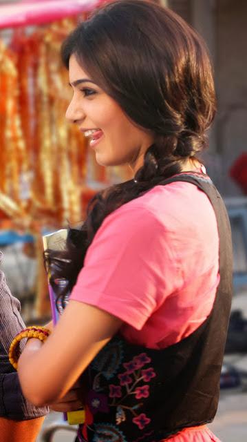Samantha Latest Hot Pictures In Autonagar Surya Movie