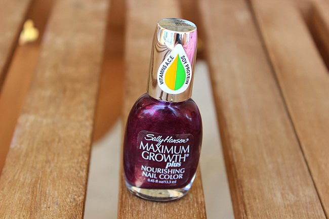 Sally Hansen Maximum Growth Plus Adoring amethyst