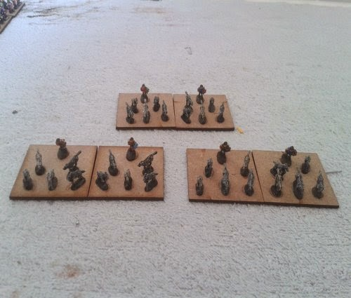 3 units of Gallic/Celtic wardogs completed picture 1