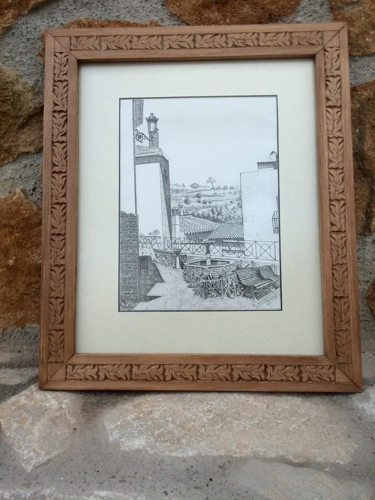 ARTESANIA EL VALLE: Marcos de fotos o cuadros en madera ...