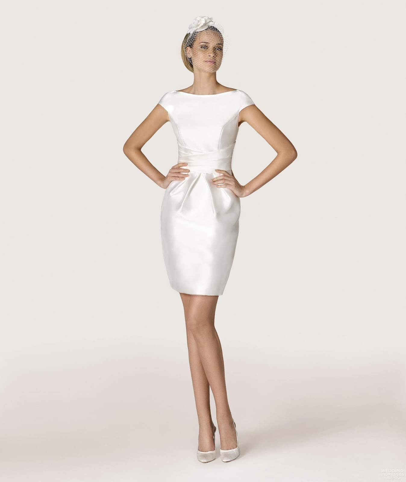 Short Wedding Dresses For Older Brides Formal Wear Women Or Have Certain Areas Such As The One With Pant Suit A