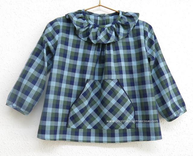 blusa infantil tutorial