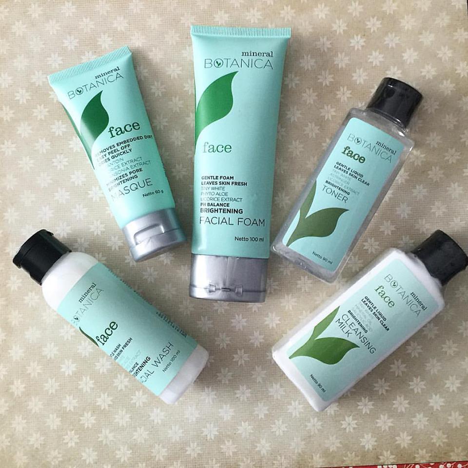 Skin Care Glansie: Review Mineral Botanica Skin Care Series