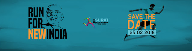 Surat marathon:Over 1 lakh people to run