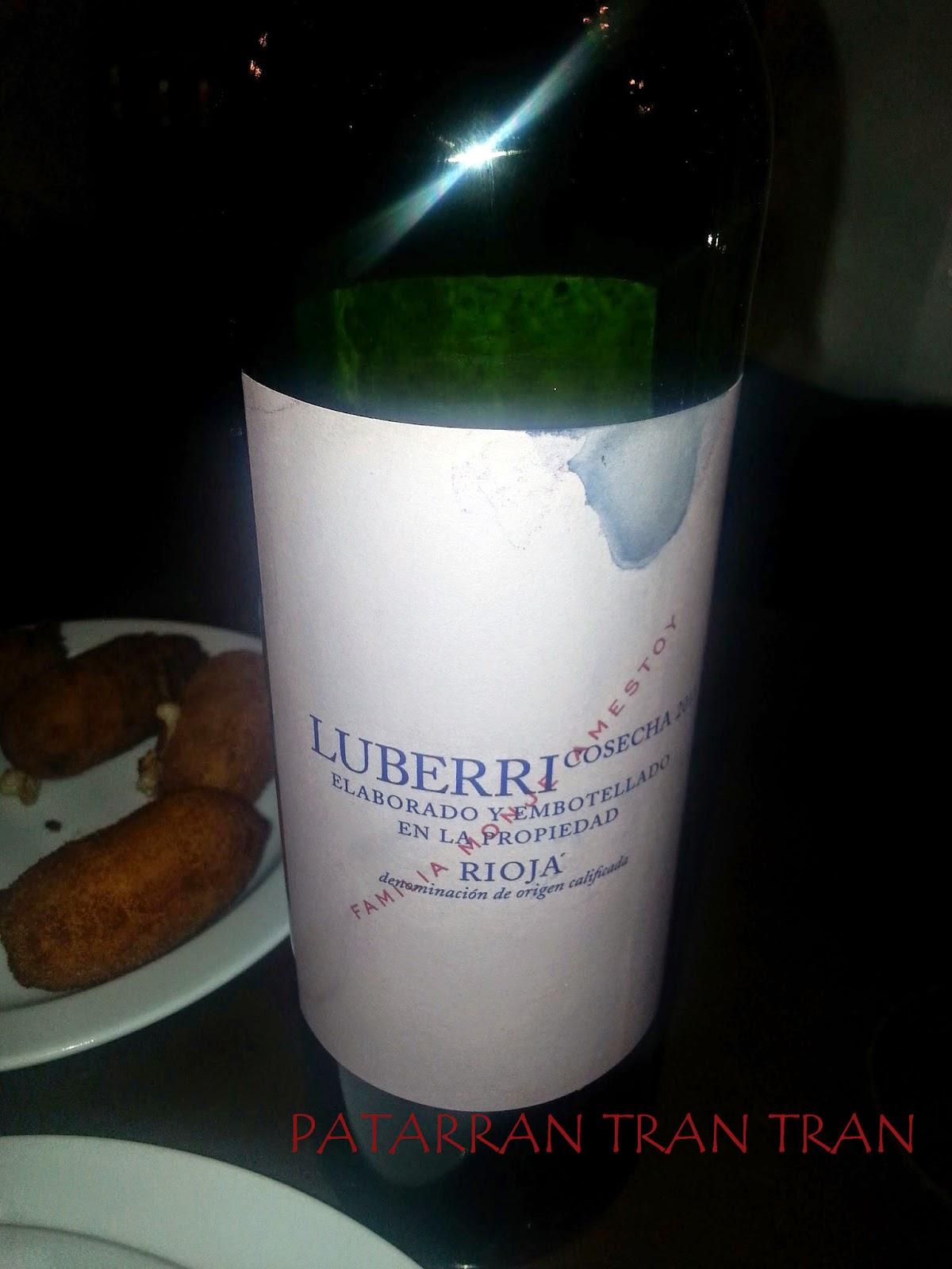 Luberri. Tinto Joven Rioja