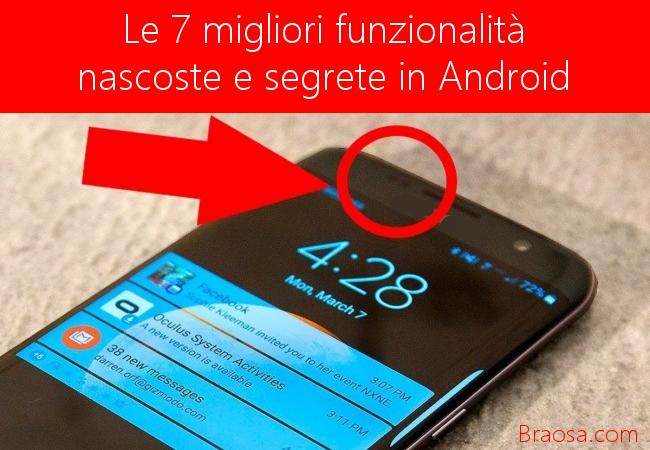 Funzionalità mascoste di Android