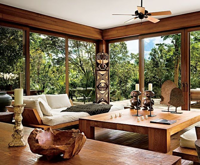 Kapalı balkonlar için kış bahçesi fikirleri