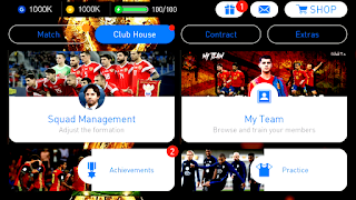 PES 2018 Mobile World Cup Menu Mod Android