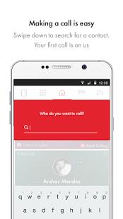 تطبيق Rebtel للاتصال المجاني من هاتف اندرويد