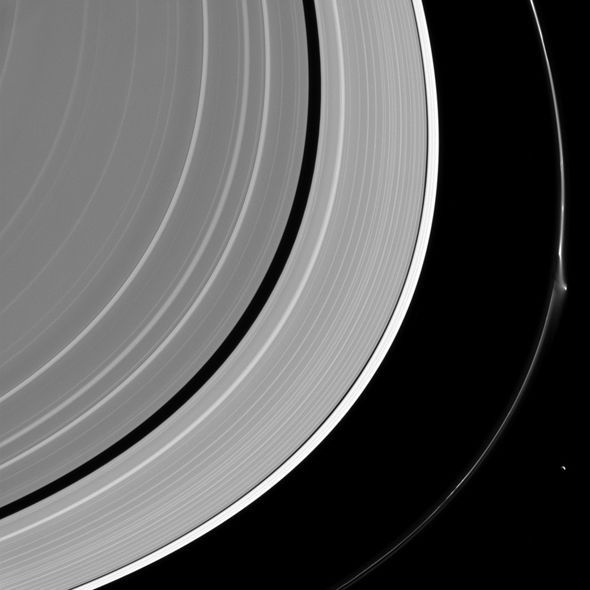 Alien Fleet Hiding On The Rings of Saturn Spotted By NASA Probe