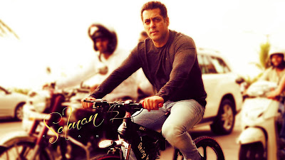 Ride Cycle HD Photo In Salman Khan