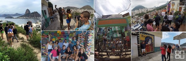 Favela whalking tour, Favela Tour, Santa Marta, Favela Santa Marta